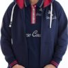 horse couture zip front hoodie, chiron equestrian
