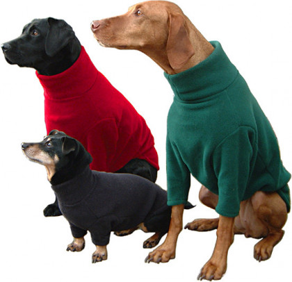 hotterdog fleece dog jumpers from chiron equestrian lampeter