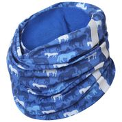 Blue navy horse design neck warmer Chiron equestrian