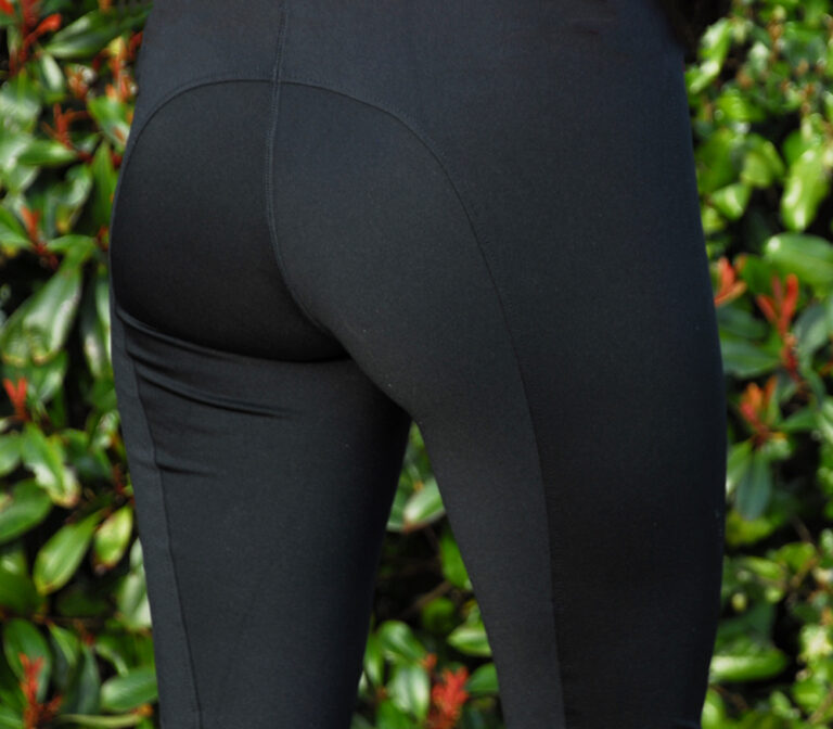 Rhinegold ladies riding rights plain black chiron Lampeter