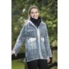 Hkm ladies transparent waterproof rain coat Chiron equestrian clothing lampeter
