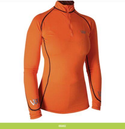 orange woof wear base layer