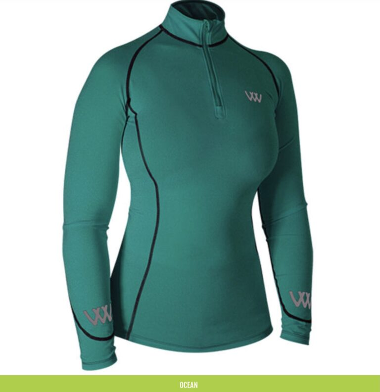 ocean woof wear base layer chiron equestrian lampeter