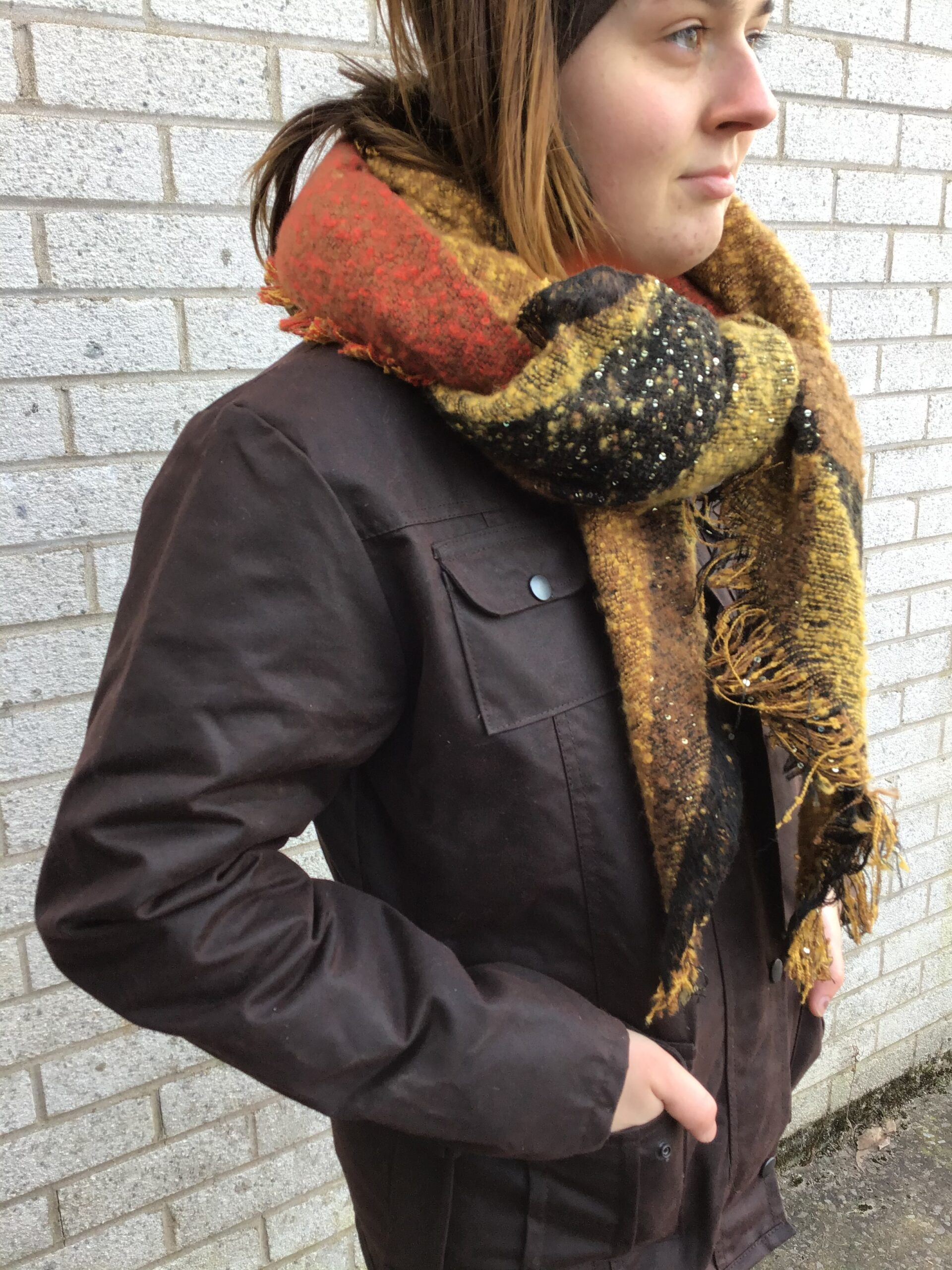 warm soft scarf at chiron clothing lampeter