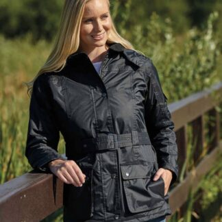 Country estate clove ladies waterproof jacket chiron equestrian Lampeter