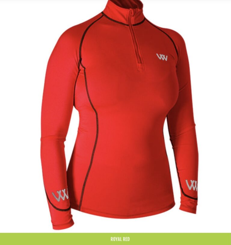royal red woof wear base layer chiron lampeter