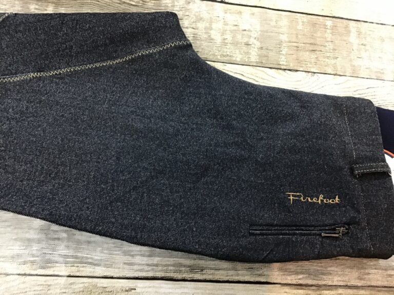 Firefoot apply your riding denim tights Chiron equestrian