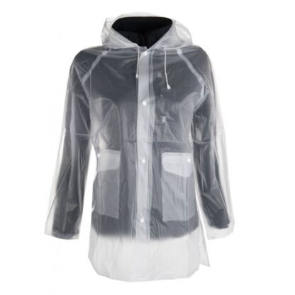 Hkm ladies transparent rain coat waterproof Chiron equestrian clothing lampeter
