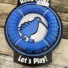 blue kiwi walker dog toy chiron equestrian