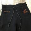 Firefoot Saltaire jodhpurs black and orange Chiron equestrian