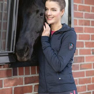 HKM Lauria garrelli sweat jacket Chiron equestrian lampeter navy