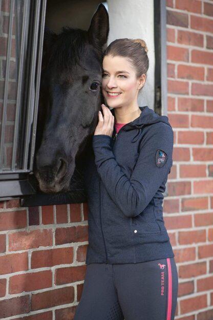 HKM Lauria garrelli sweat jacket Chiron equestrian lampeter navy