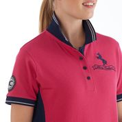 horse couture polo chiron equestrian Lampeter short sleeve ladies