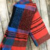 Blue and orange scarf Chiron equestrian Lampeter