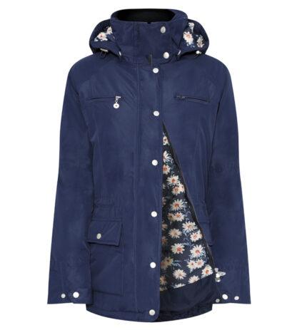 Mayfield navy waterproof coat Chiron Lampeter