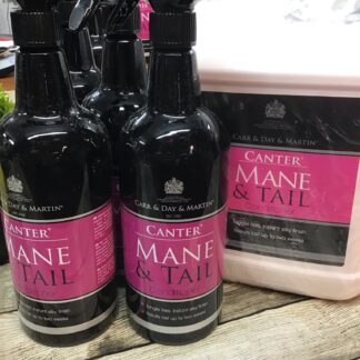 Carr day Martin canter mane and tail conditioner Chiron equestrian lampeter