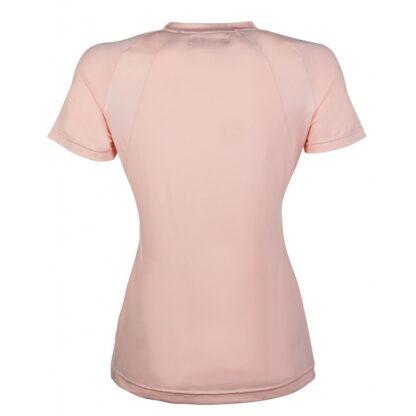 ladies hkm tshirt short sleeve apricot chiron equestrian Lampeter