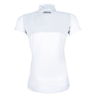 HKM show shirt ladies white diamanté trim chiron equestrian Lampeter
