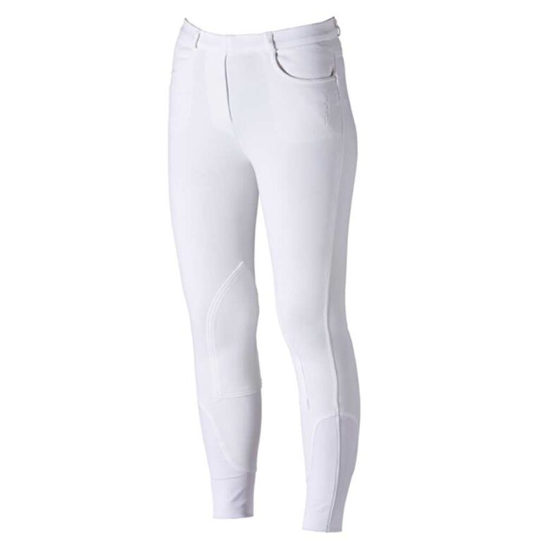 Firefoot farsley ladies breeches white pull on chiron equestrian Lampeter