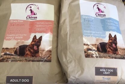 Chiron dried dog and puppy grain free food