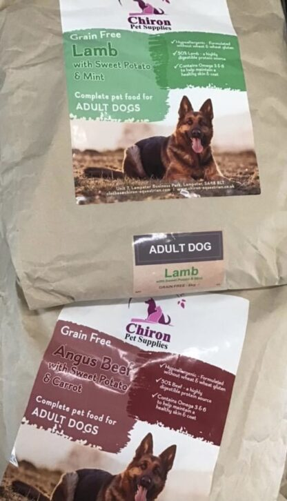 Chiron dried dog and puppy food grain free